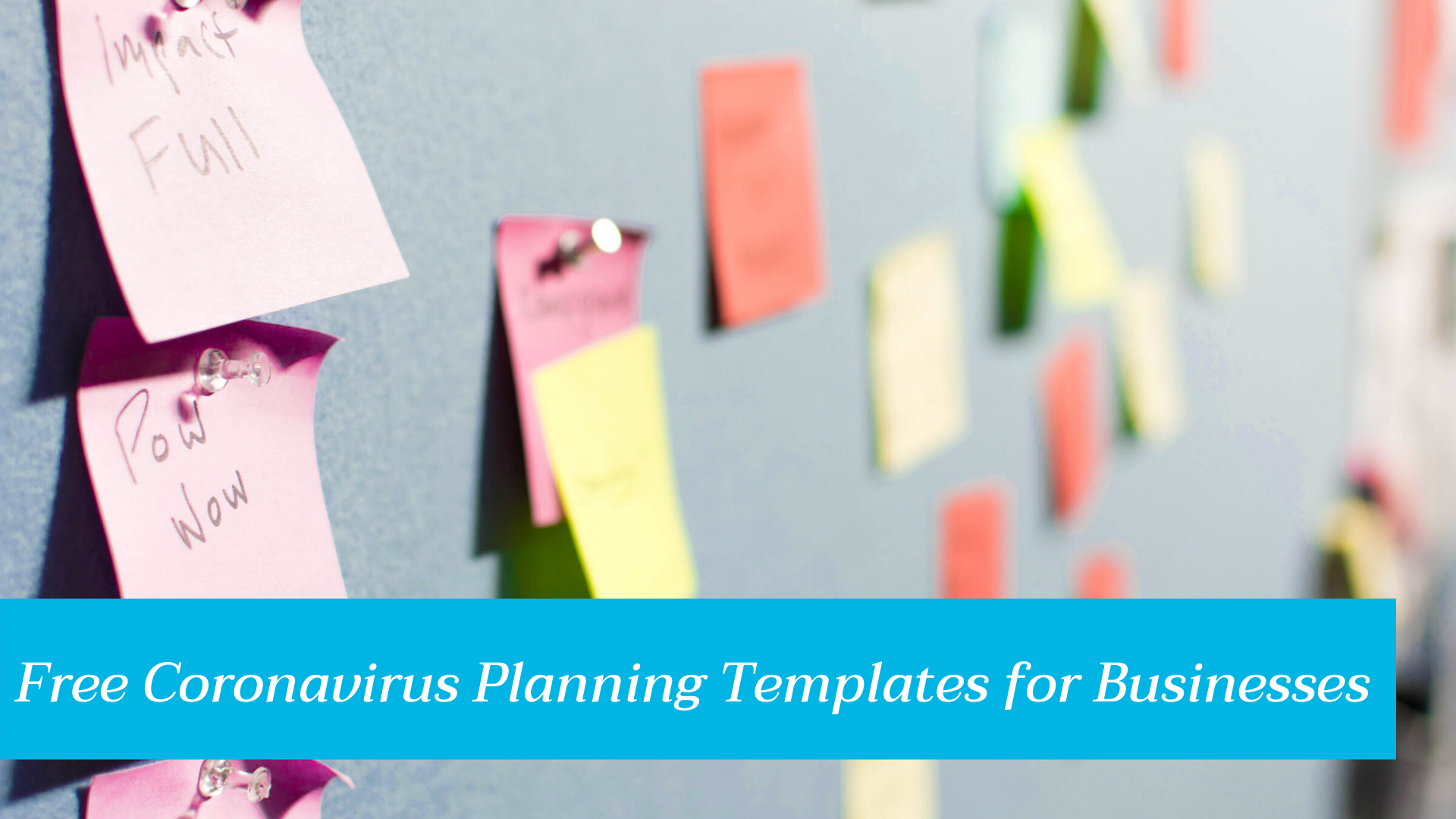 Coronavirus Business Planning Templates