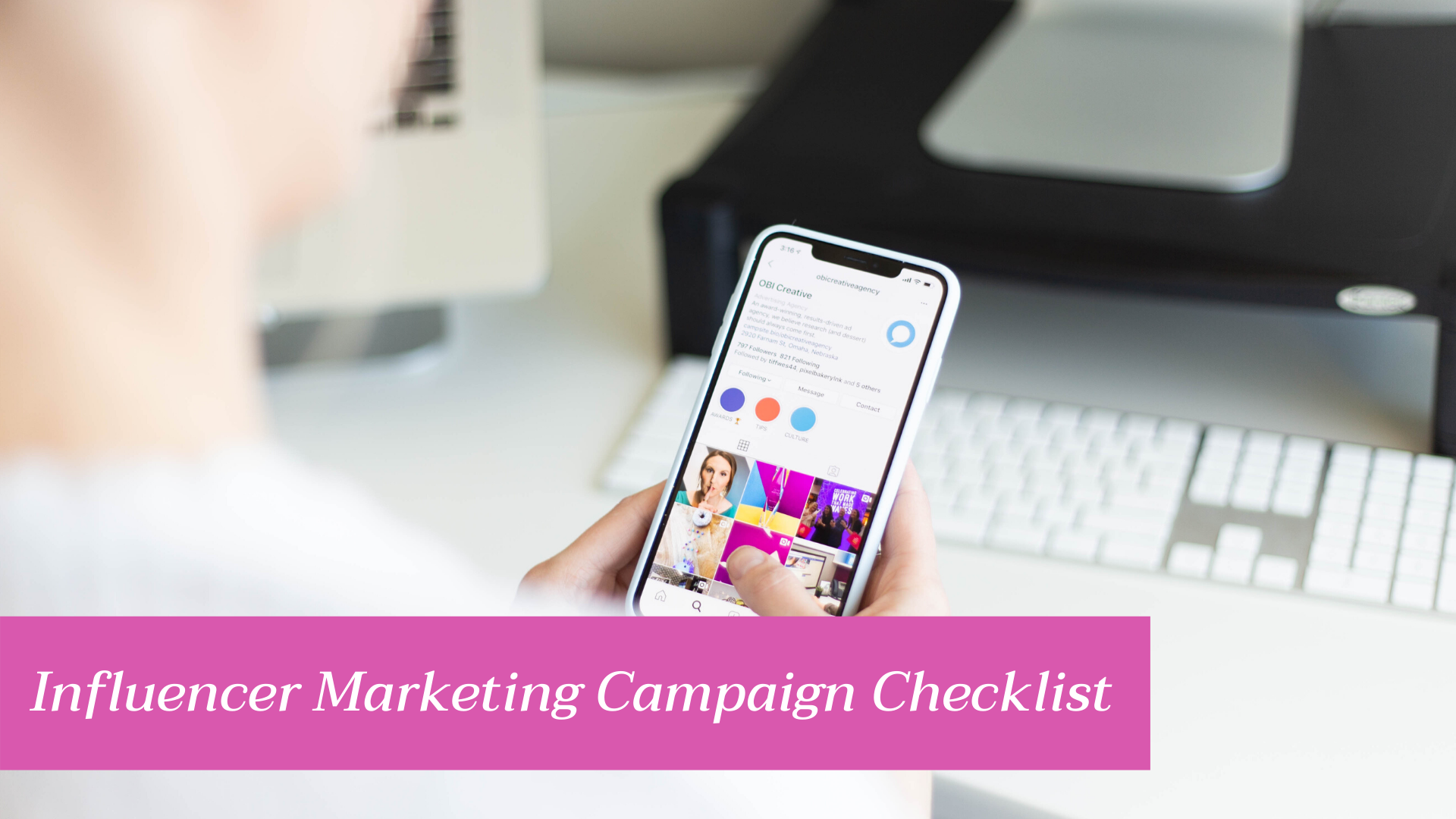 Influencer Marketing Campaign Checklist